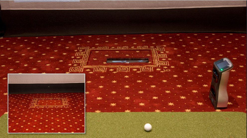 Home Theater Turns into Golf Simulator with Press of an Elan Button, slide 0