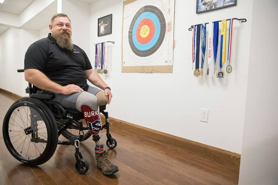 Marine Corps Major and Paralympic Gold Medalist Receives Customized ELAN Controlled Smart Home, slide 0