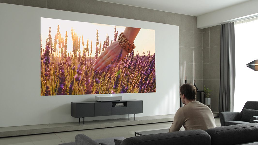 $5,999 LG 4K Short-Throw Laser Projector Supports HDR10, Google Assistant
