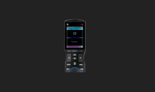TRC-1480 Handheld Remote with Voice Control