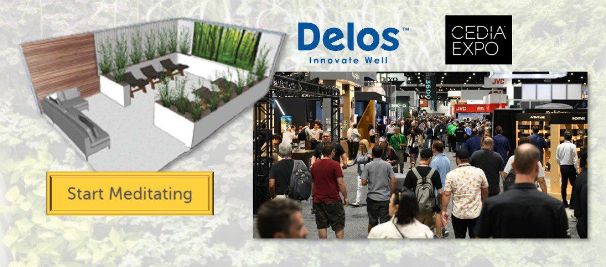 Escape CEDIA Expo! First-Ever Delos Wellness Pavilion Offers Biophilic Refuge