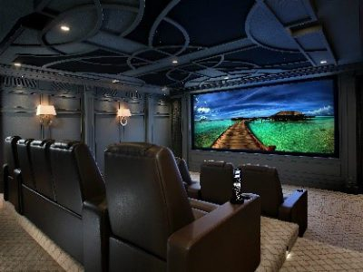 Isolated Room With Power, Garage Home Theater