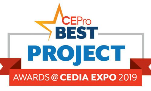 CE Pro Names 2019 BEST Project Award Winners at CEDIA Expo