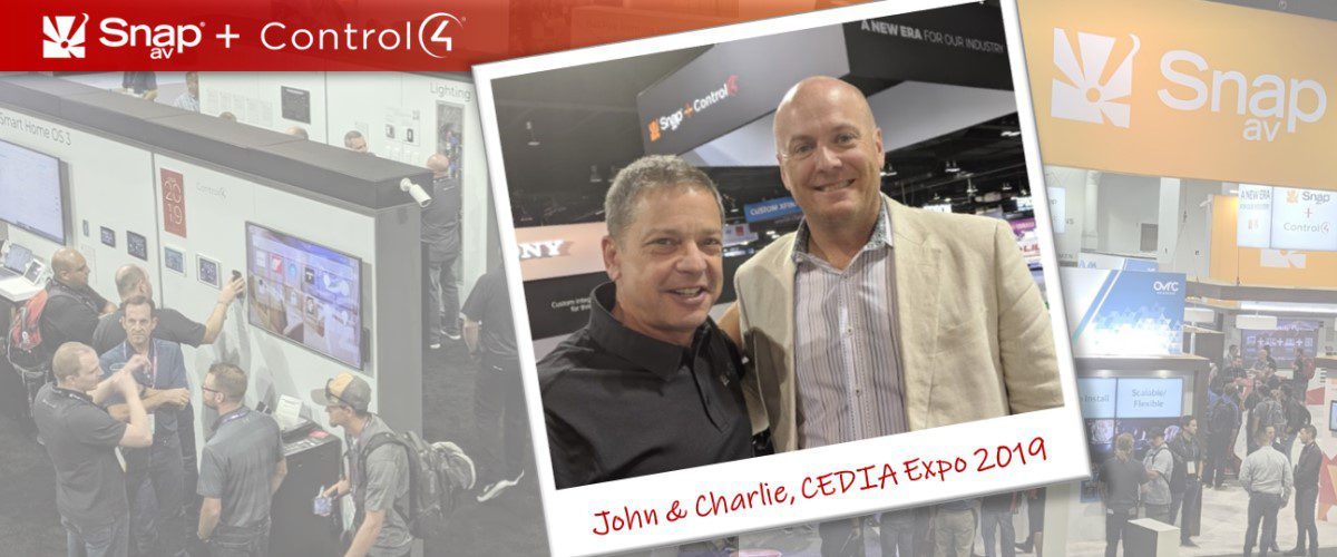 Control4, SnapAV & OvrC at CEDIA: In Pursuit of Smart-Home Scale