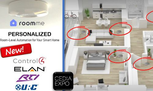 RoomMe Adds Person/Location Tracking for True Home Automation; First Custom Integrations at CEDIA