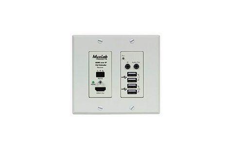 MuxLab HDMI/USB over IP PoE
