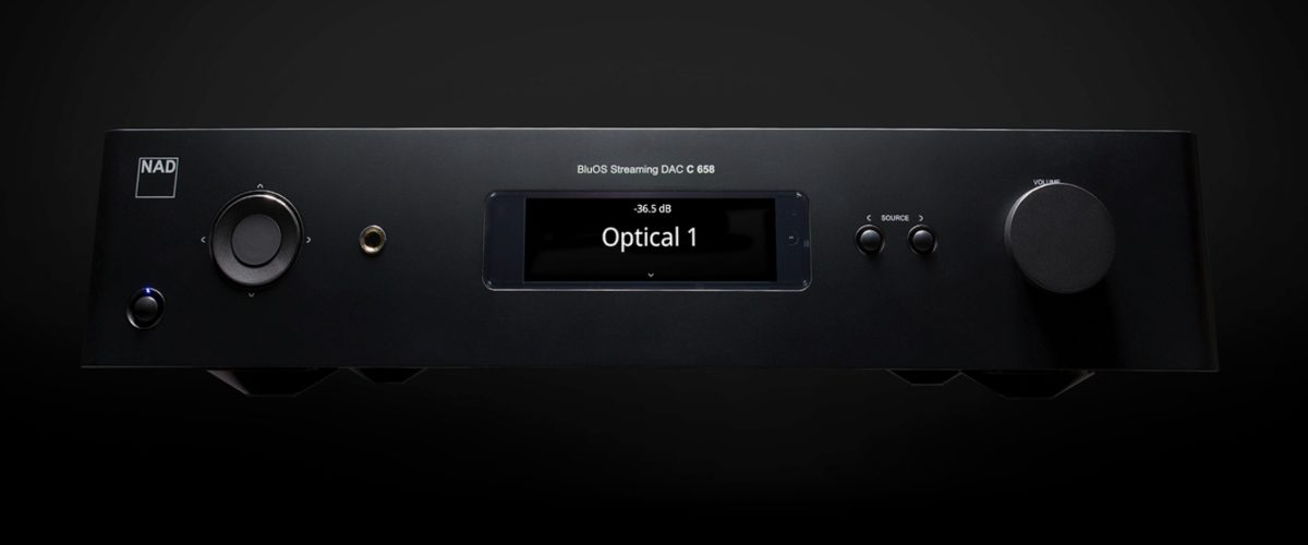 Hands On: NAD C 658 Preamplifier and C 268 Amplifier