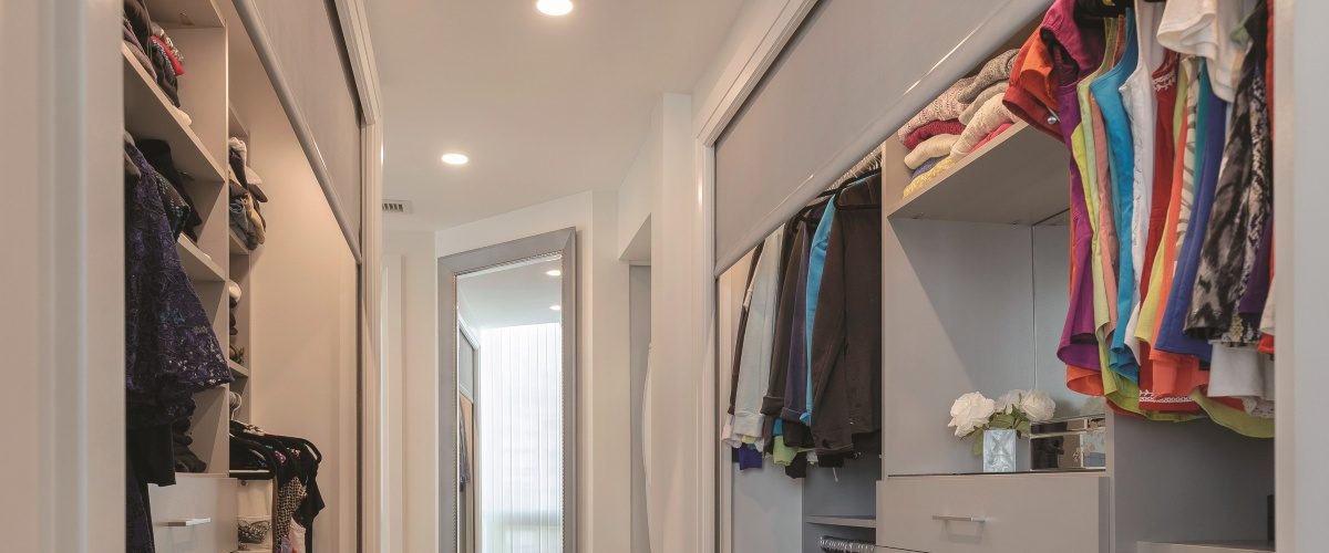 Neat-O: Using Motorized Shades in Closets