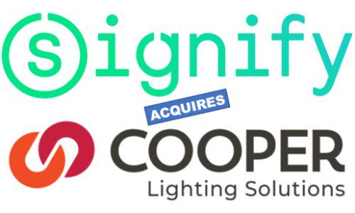 Signify Formerly Philips Lighting Acquires Cooper