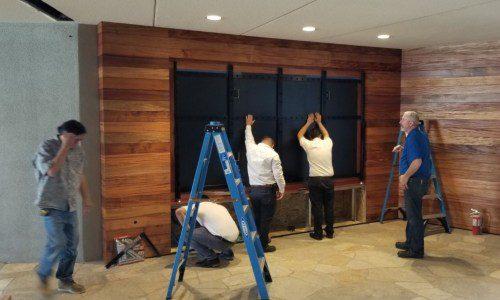 First U.S. Residential Install of Samsung 'The Wall' Completed