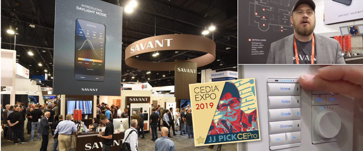 Savant's Amazing, Integrated Biophilia, Wellness, Lighting, Energy Solutions at CEDIA 2019