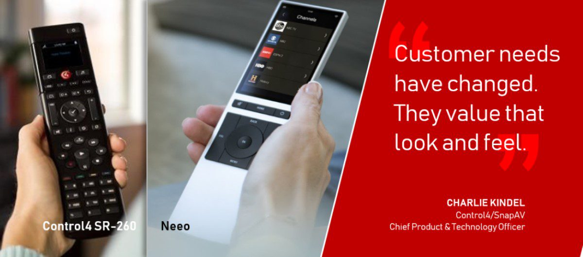 Control4's New Neeo Remote in Depth: Execs Talk Big Picture