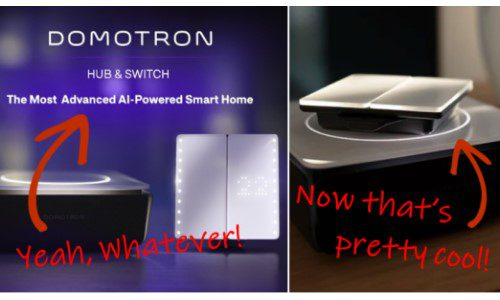 Something Special About Domotron Home Automation, Launching on Indiegogo