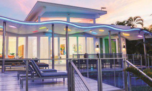 Minimalist Miami Mansion Transforms Into LED-Lit Wellness Paradise - CEPRO