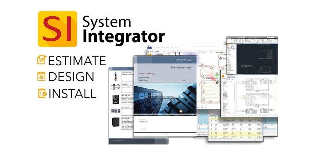 D-Tools System Integrator v13 Software to Debut at ISE