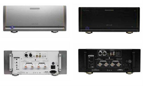 Parasound Halo JC 1+ amplifier silver black