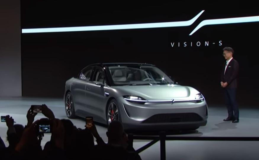 Sony VISION-S car CES 2020