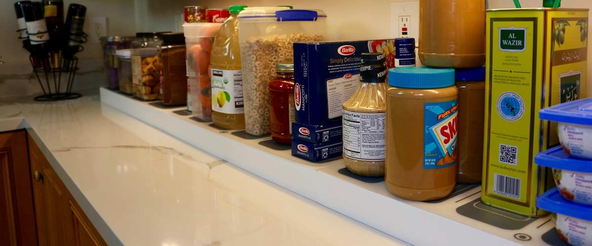 PantryOn Smart Shelf Offers Unique Kitchen Upsell