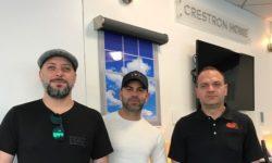 crestron dealer panel small