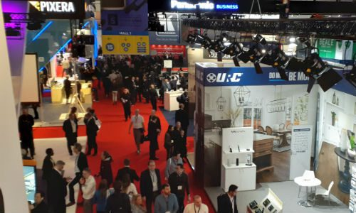 ISE 2020: Around the RAI in 30 Tweets