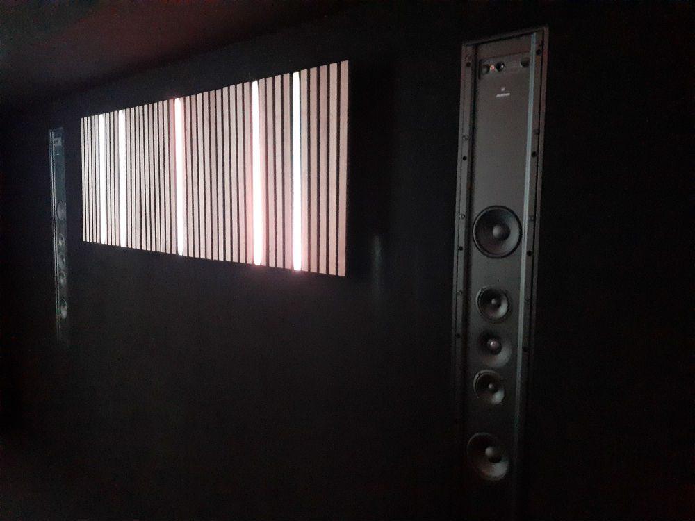 Meridian DSP750 in-wall active digital loudspeaker ISE 2020