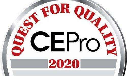 CE Pro Quest for Quality Awards 2020: Distributors
