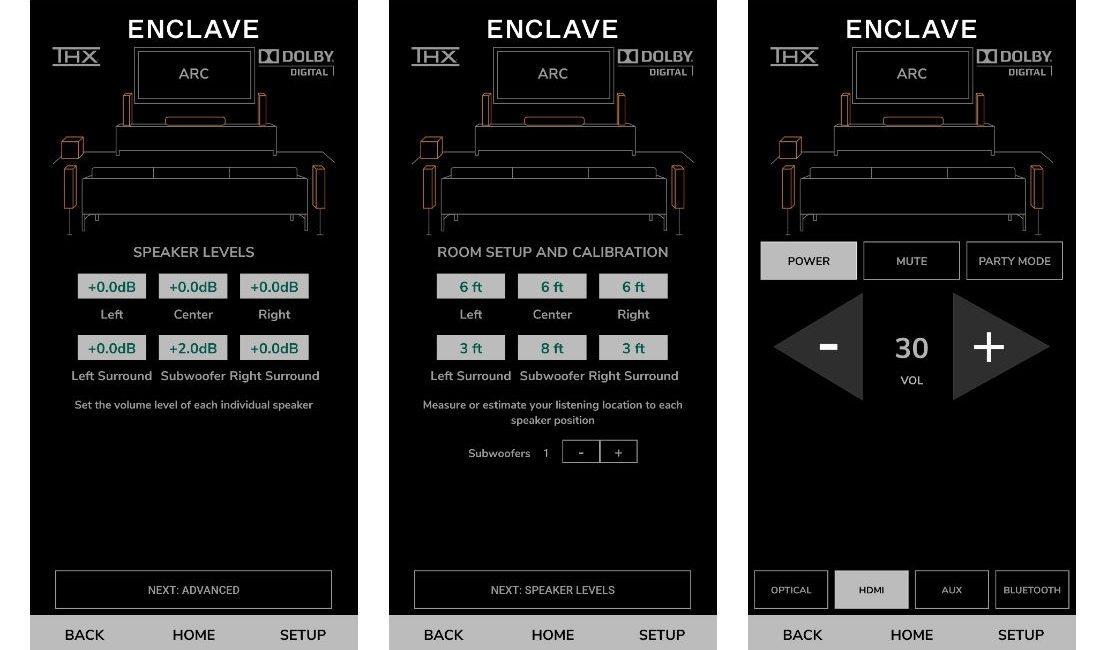 Hands On: Enclave Audio CineHome II Wireless Surround-Sound System, slide 5
