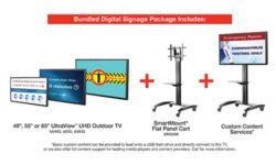Peerless AV Digital Signage Package