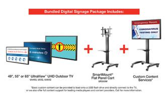 Peerless AV Digital Signage Package