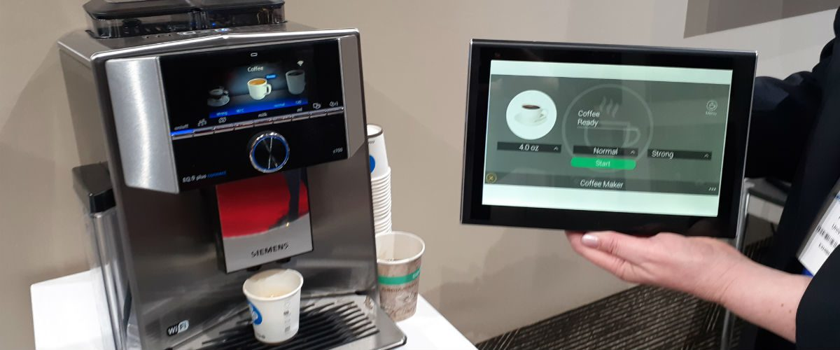 URC All-in on Smart Appliances, Commercial Tools at ISE