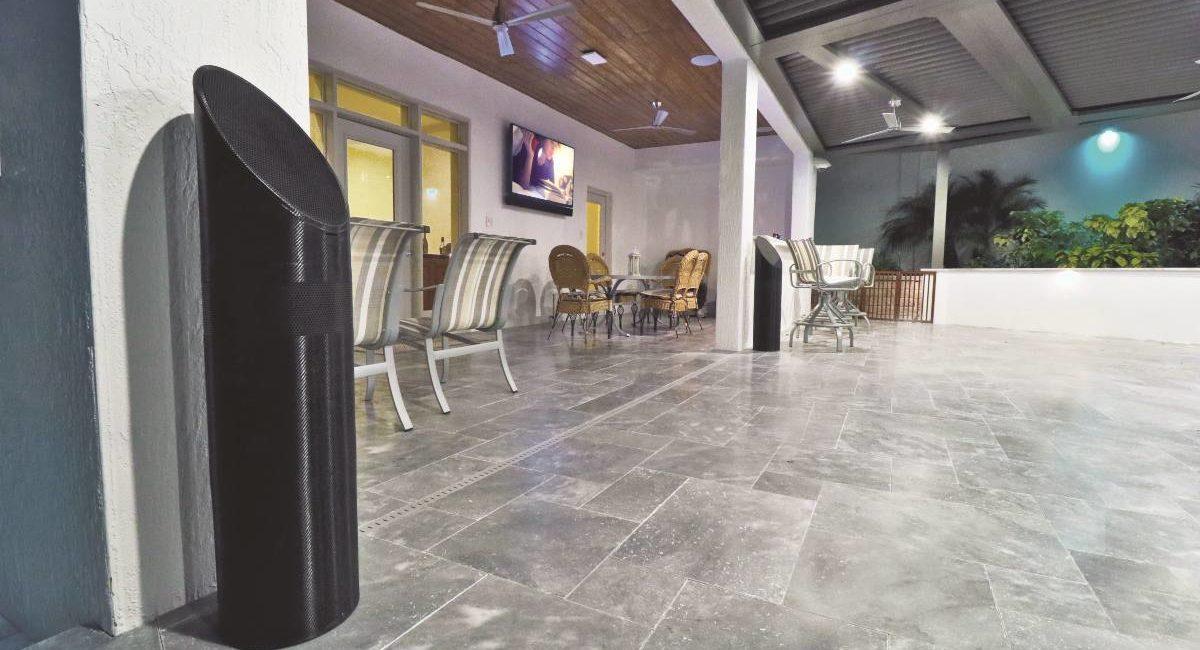 Florida Integrator Helps Turn Outdoor Eyesore into an AV-Filled Oasis, slide 0