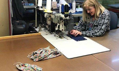 Draper masks sewing coronavirus