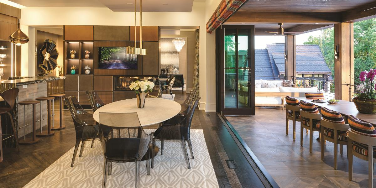 Minnesota-Based Integrator Turns 12,000-Square-Foot Mansion into Custom Home of the Year, slide 4