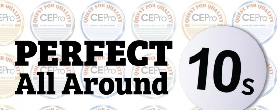 CE Pro Quest for Quality Awards 2020: Manufacturers