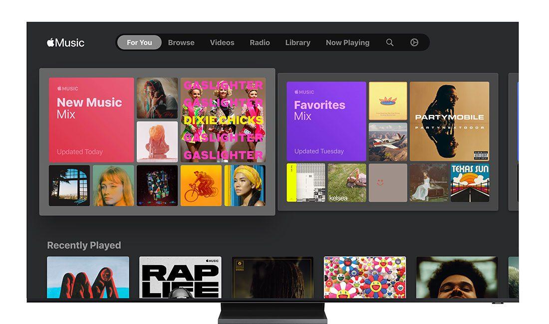 Samsung Adds Apple Music to its Smart TV Platform