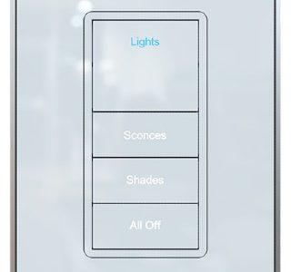 Legrand Vantage EasyTouch Glass