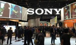 Sony booth small