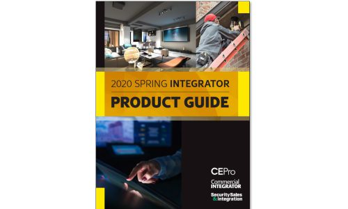 CE Pro 2020 Spring Integrator Product Guide