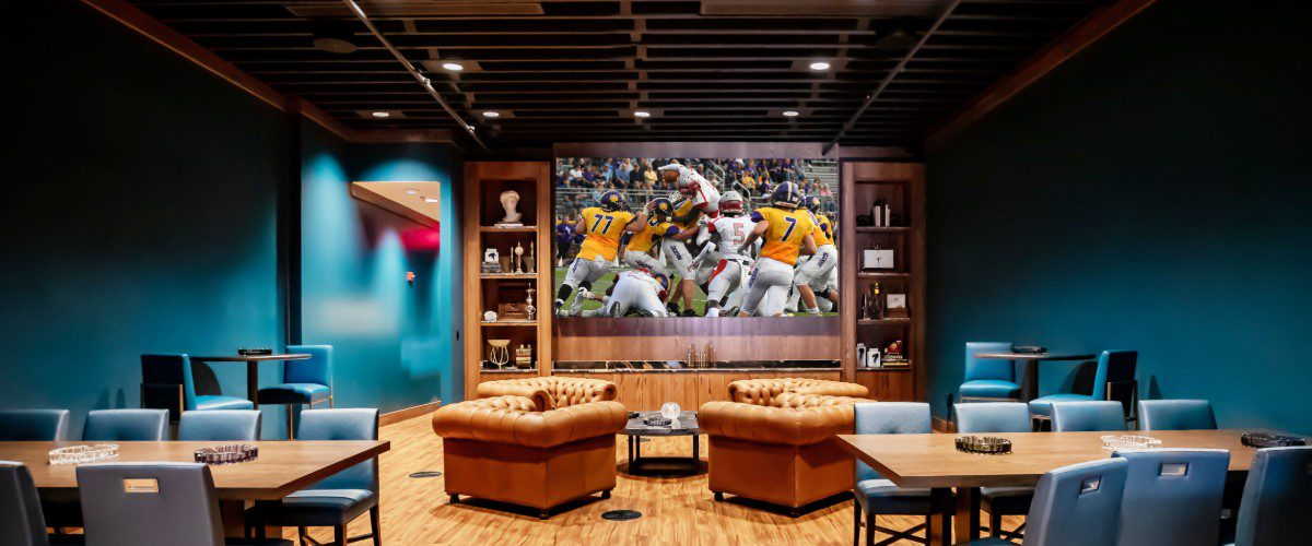 LED Wall Jazzes Up Roaring '20s Style Arkansas Bar