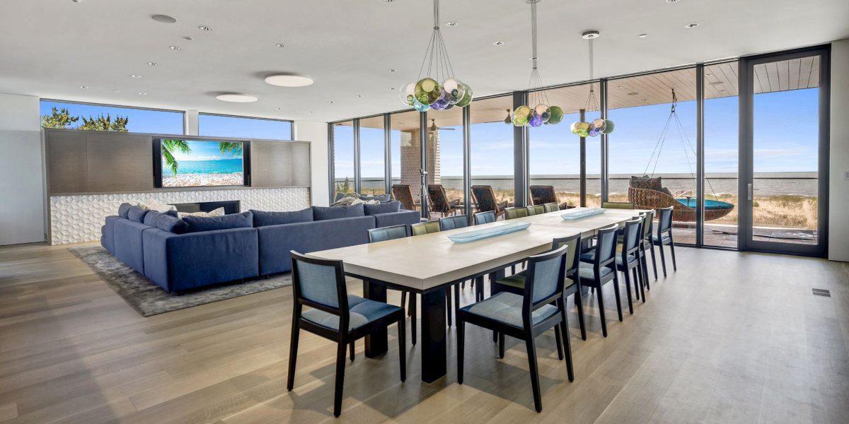10-Bedroom Beach Home Is Lighting, Shading Design Masterpiece, slide 0