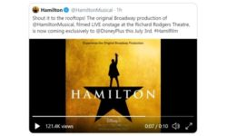 Hamilton Disney+ release home theater