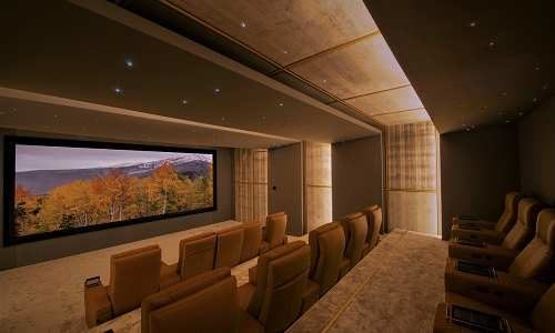 Wow! 11.4.6 Home Theater Dazzles with Massive 234-Inch Screen