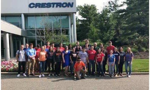 Coronavirus Does Not Slow Down Crestron Internship Program