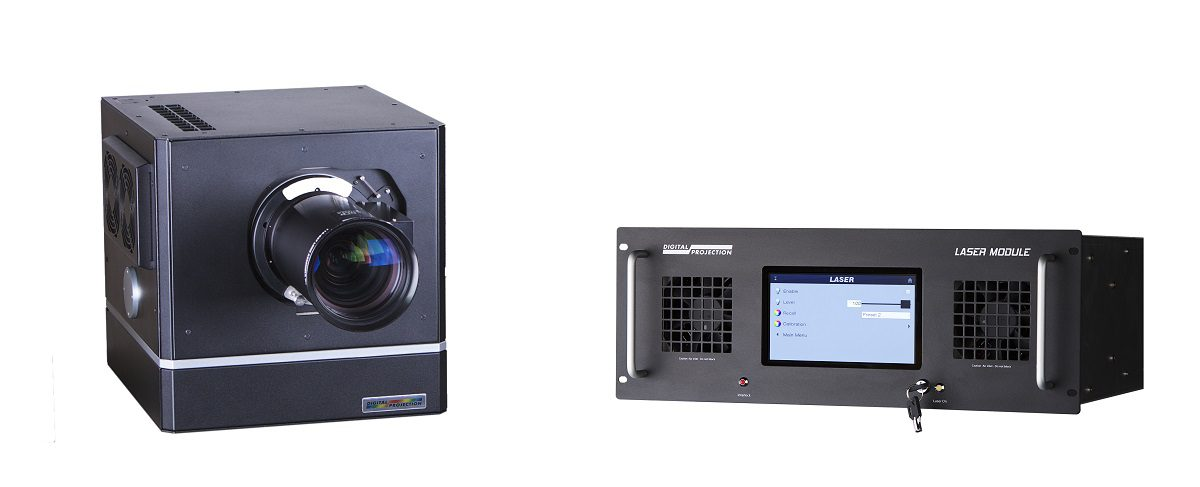 Digital Projection Satellite MLS Is Modular Projector Solution