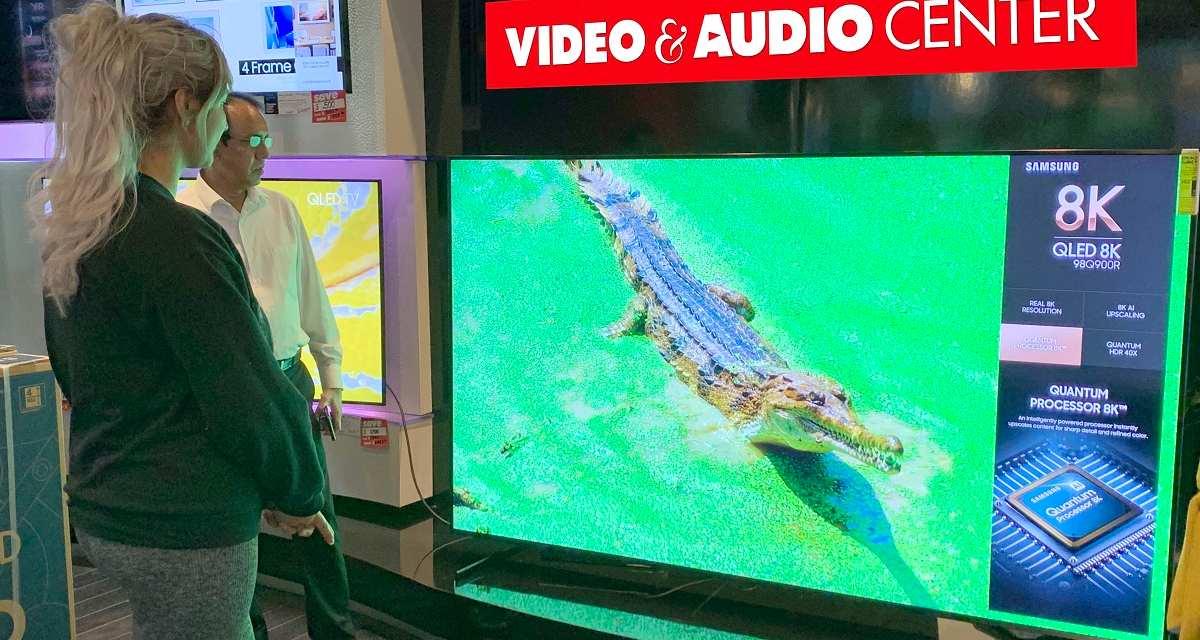 3 Giant Samsung 8K TVs Net Dealer $179,993 in One Weekend