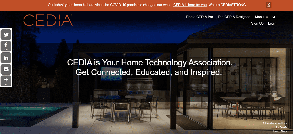 CEDIA Academy Online Learning Platform Debuts,  Website Redesigned