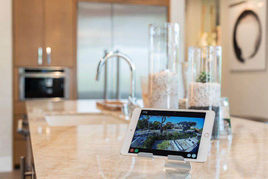 Brilliant AV smart home Ring interface