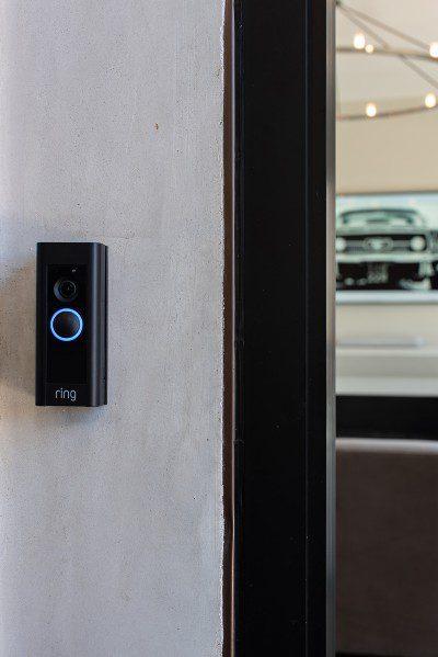 Brilliant AV smart home Ring doorbell