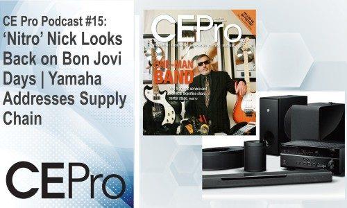 CE Pro Podcast 15 Nick Tamburri Yamaha