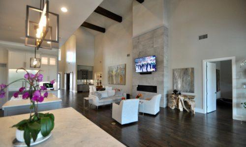 50 Zones of Lighting Help Brighten This Stunning Texas Smart Home